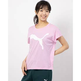 ACTIVE ロゴ SS Tシャツ (PALE PINK)