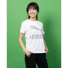 CLASSICS ロゴ SS Tシャツ (WHITE-METAL)