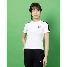 CLASSICS タイト SS Tシャツ (WHITE-BLACK)