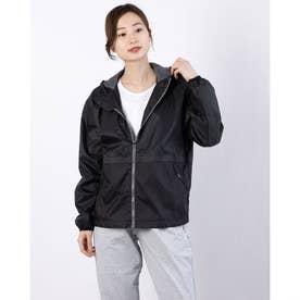 レディース ウインドジャケット ウラメッシュ ウーブン ジャケット 520532 (ブラック)