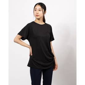 レディース 半袖Tシャツ デザイン Tシャツ 588577 (ブラック)
