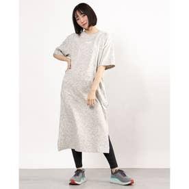 レディース ワンピース HER Tシャツ ドレス 588462 (ホワイト)