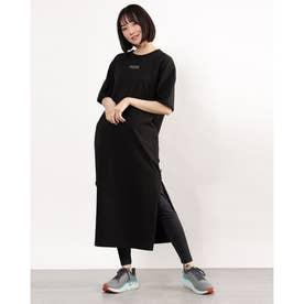 レディース ワンピース HER Tシャツ ドレス 588462 (ブラック)