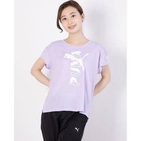レディース 半袖機能Tシャツ MODERN SPORTS Tシャツ 588729 (パープル)