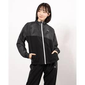 レディース クロスジャケット ノンラインド ウーブン ジャケット 520535 (ブラック)