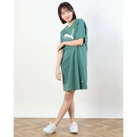 レディース 半袖Tシャツ REBEL Tシャツ ドレス 588843 (イエロー)