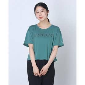レディース 陸上/ランニング 半袖Tシャツ ランニング ライト COOLADAPT スキマー 520798 (グリーン)