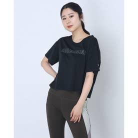 レディース 陸上/ランニング 半袖Tシャツ ランニング ライト COOLADAPT スキマー 520798 (ブラック)