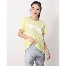 レディース 半袖機能Tシャツ RTG ロゴ Tシャツ_リラックスフィットでdryCELL機能付 588938 (イエロー)