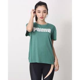 レディース 半袖機能Tシャツ RTG ロゴ Tシャツ_リラックスフィットでdryCELL機能付 588938 (グリーン)