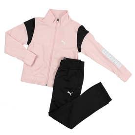 レディース ジャージ上下セット トレーニングスーツ_ 846594 (ピンク)