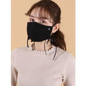 オリジナルレースマスク【返品不可商品】 (ブラック)