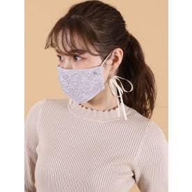 オリジナルレースマスク【返品不可商品】 (パープル)