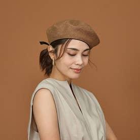 【La Maison de Lyllis】STONCHベレー帽 (キャメル)