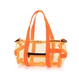 Mesh Duffle bag (NEON ORG)