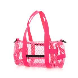 Mesh Duffle bag (NEON PNK)