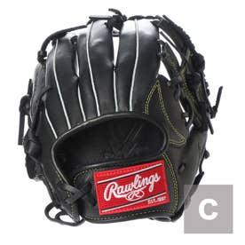 軟式野球 野手用グラブ ジュニアHYPER TECH(GJ9HTGSS-BK) J00621819