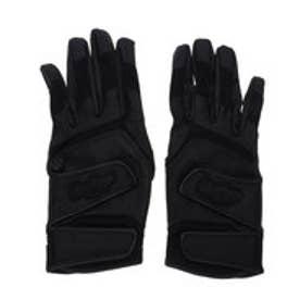 野球 バッティング用手袋 <両手用>ハイスクール ダブルベルト EBG9S02-B J00620636