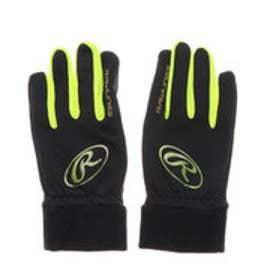 野球 防寒手袋 ハイパーストレッチニット手袋 EAC9F03 J00630784