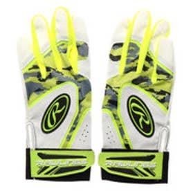 野球 バッティング用手袋 両手用 バッティンググラブ 5150AP3-OPY J00633622