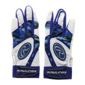 野球 バッティング用手袋 両手用 バッティンググラブ ジュニア 5150AP3-BL J00633631