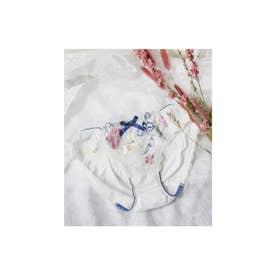Risa Magli (N05) マリアンヌ サニタリーショーツ (ホワイト)【返品不可商品】