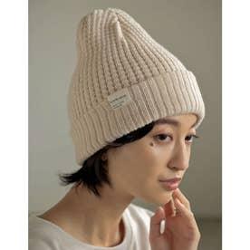2WAYニット帽 (アイボリー)