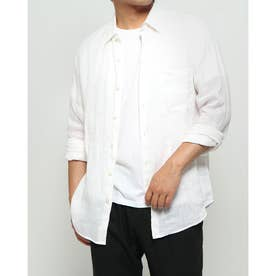 リネンスタンダードシャツ (ホワイト)