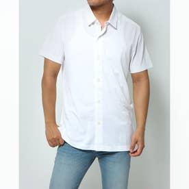 シンプルポロシャツ (ホワイト)