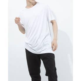 ラウンドネックシンプルTシャツ (ホワイト)