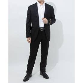 メンズシンプルセットアップスーツ(ブラック)