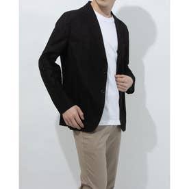 メンズベーシックなジャケット(ブラック)