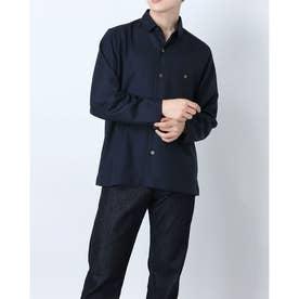 タータンチェックシャツ (ダークネイビー)