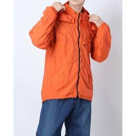 裾ループストッパーマウンテンジャケット (オレンジ)