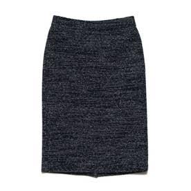 ツイードタイトスカート (ネイビー)