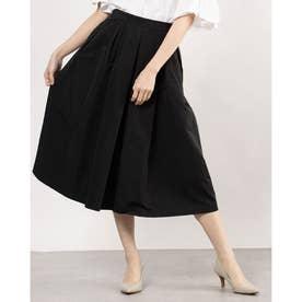 ボリューム感ブラックスカート (ブラック)
