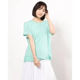 レイヤードデザインTシャツ(ミント)