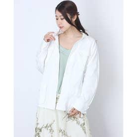コットンワークジャケット (ホワイト)