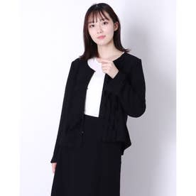 フリルデザインジャケット (クロ)