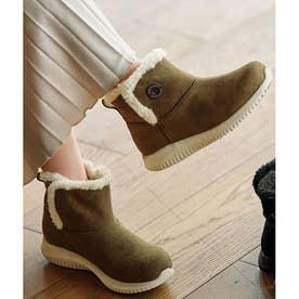 あったか軽量ソール防水機能付ブーツ (カーキ)