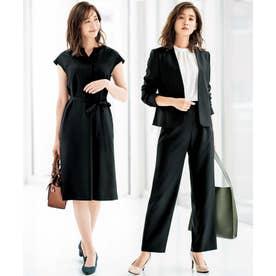 【4点スーツ】形態安定機能付きトレンド4点スーツ (ブラック系)