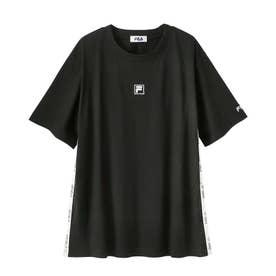 <FILA>オーバーシルエットTシャツ (ブラック)