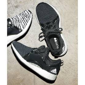 〈adidas〉ピュアブーストXスニーカ (ブラック)