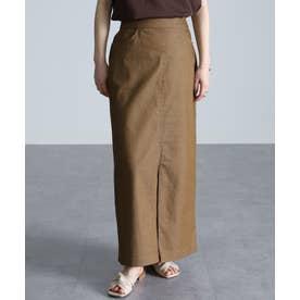 チノライクロングタイトスカート (BE)