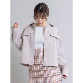 【Rewde】CPO/シャツジャケット(0R16-02046) (ベージュ)