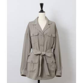 【Rewde】CPO/サファリシャツジャケット (0R16-08050) (カーキ)