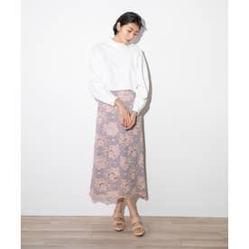 レースタイトスカート(1R10-03203) (スモーキーピンク)
