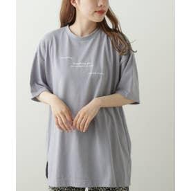 アソートプリントビックTシャツ (ブルー)