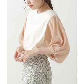 袖異素材プルオーバー (生成)