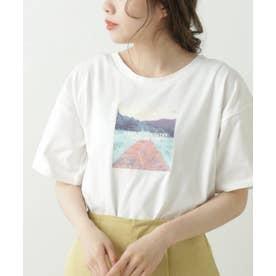GLS アート転写ホワイトTシャツ (赤)